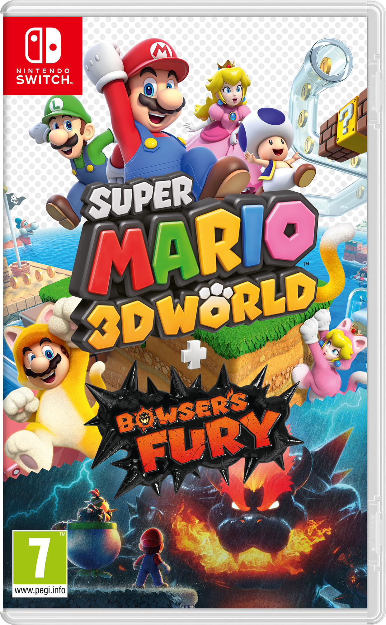 Super Mario 3D World and Bowser's Fury (NS)
