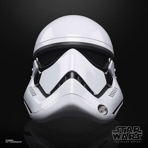 Star Wars Episode VIII Black Series Electronic Helmet First Order Stormtrooper