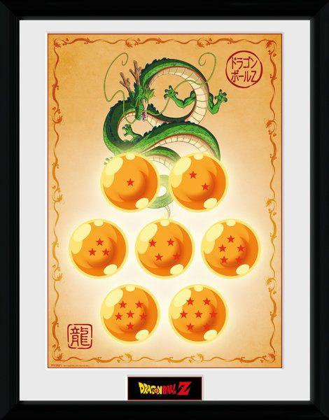 Dragon Ball Z Framed Poster Dragon Balls 45 x 34 cm