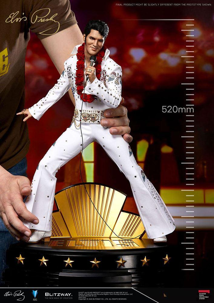 Marilyn Monroe Superb Scale Hybrid Statue 1/4 Elvis Aaron Presley 52 cm
