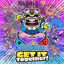 WarioWare Get It Together with keychain (NS)