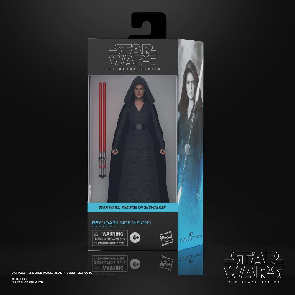 Star Wars Black Series Action Figures 15 cm 2021 Wave 1 Rey (Dark Side Vision Episode IX)