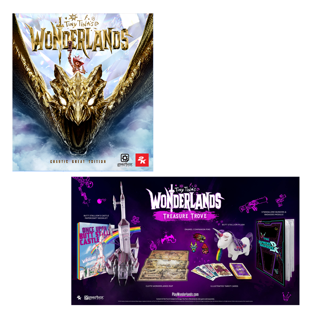 Tiny Tina's Wonderlands Treasure Trove with Chaotic Great Edition (PS4/PS5/XB1/XBX)