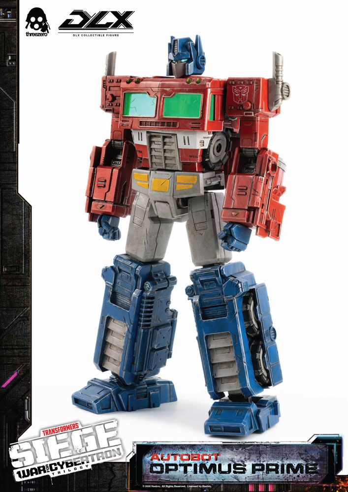 Transformers: War For Cybertron Trilogy DLX Action Figure Optimus Prime 25 cm