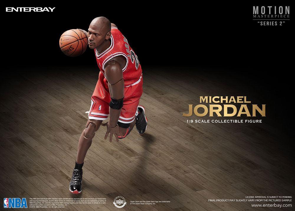 NBA Collection Motion Masterpiece Actionfigur 1/9 Michael Jordan 23 cm