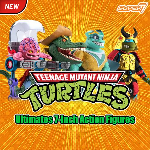 Teenage Mutant Ninja Turtles Ultimates Action Figure Krang 18 cm
