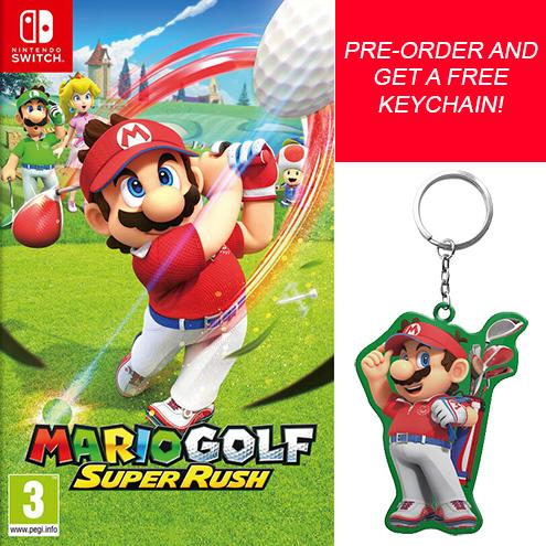 Mario Golf Super Rush with bonus keychain (NS)