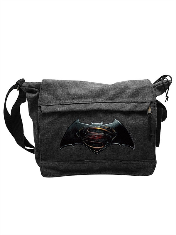 Batman v Superman Logo Messenger Bag from Batman v Superman: Dawn of Justice 35 x 25 cm