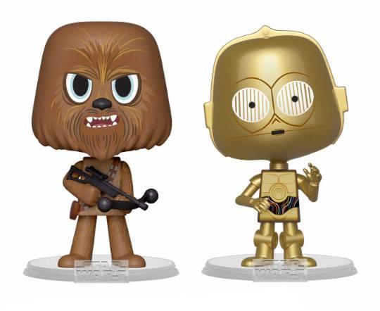 Star Wars VYNL Vinyl Figures 2-Pack Chewbacca & C-3PO 10 cm