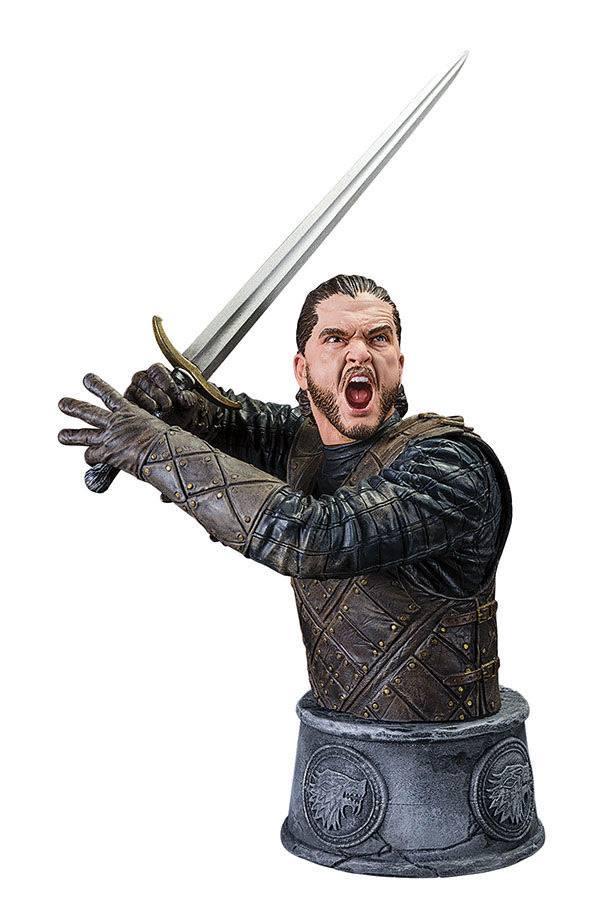 Game of Thrones Bust Jon Snow Battle of the Bastards 15 cm