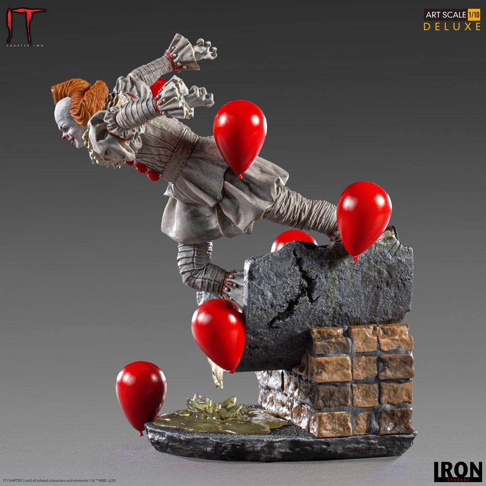 It Chapter Two Deluxe Art Scale Statue 1/10 Pennywise 21 cm