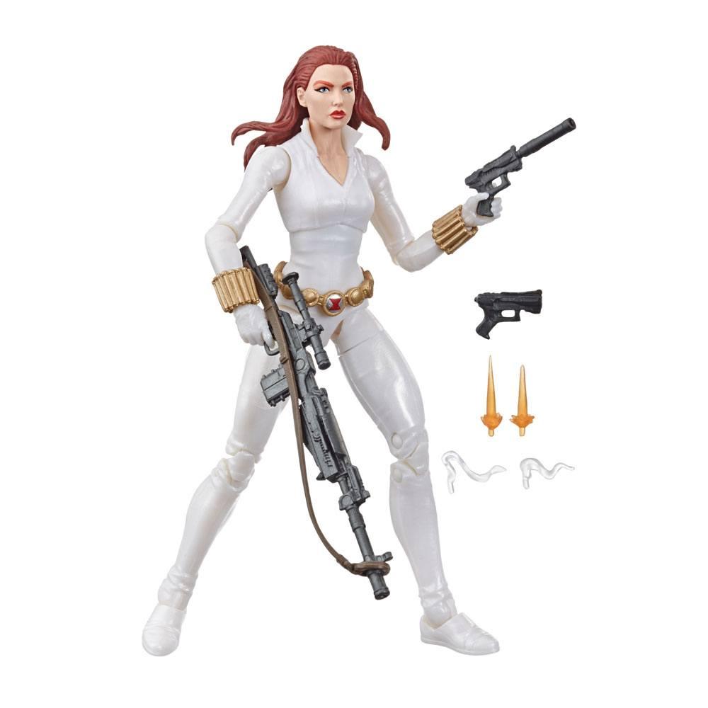 Marvel Legends Series Action Figure Black Widow White Suit Deadly Origin 15 cm