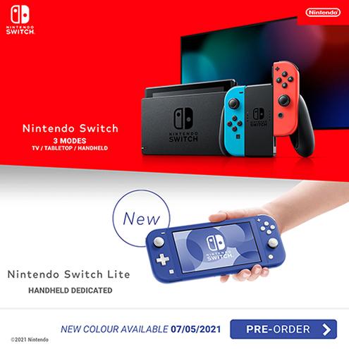 Nintendo Switch Console Lite Blue