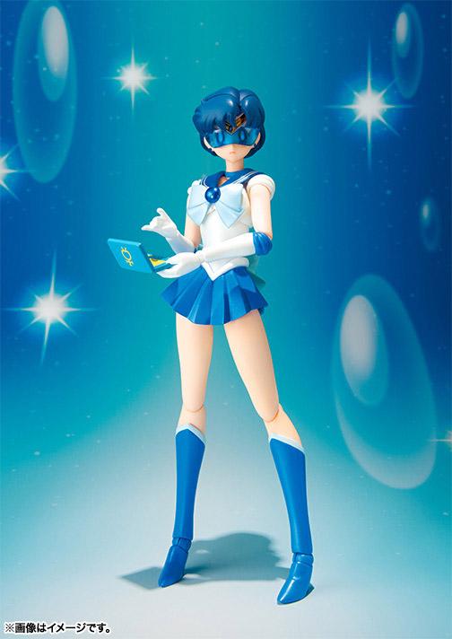 Sailor Moon S.H. Figuarts Action Figure Sailor Mercury 14 cm