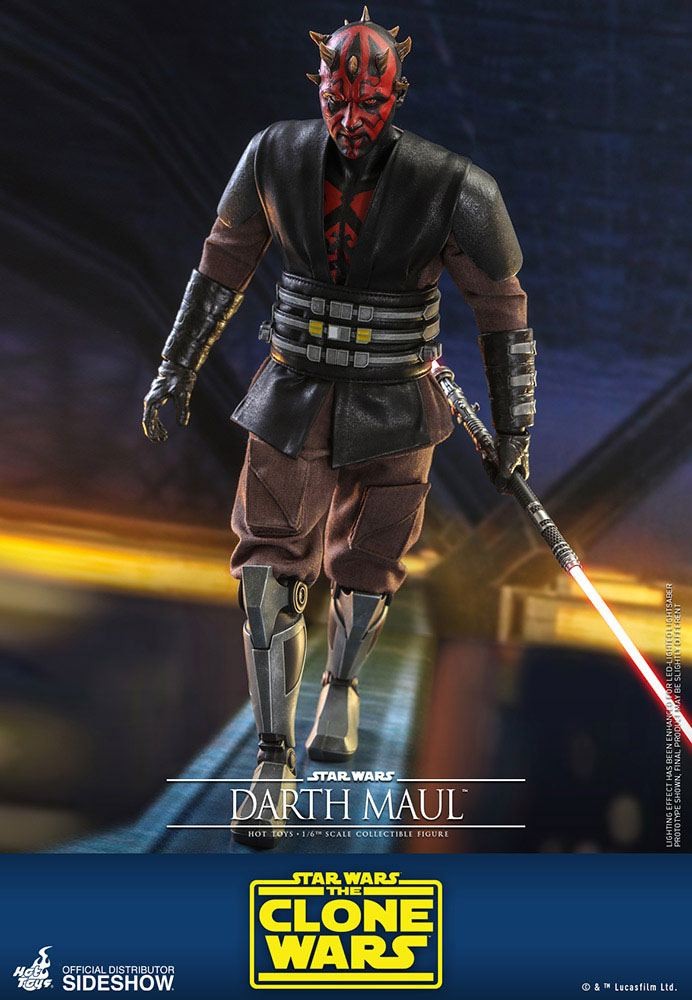 Star Wars The Clone Wars Action Figure 1/6 Darth Maul 29 cm