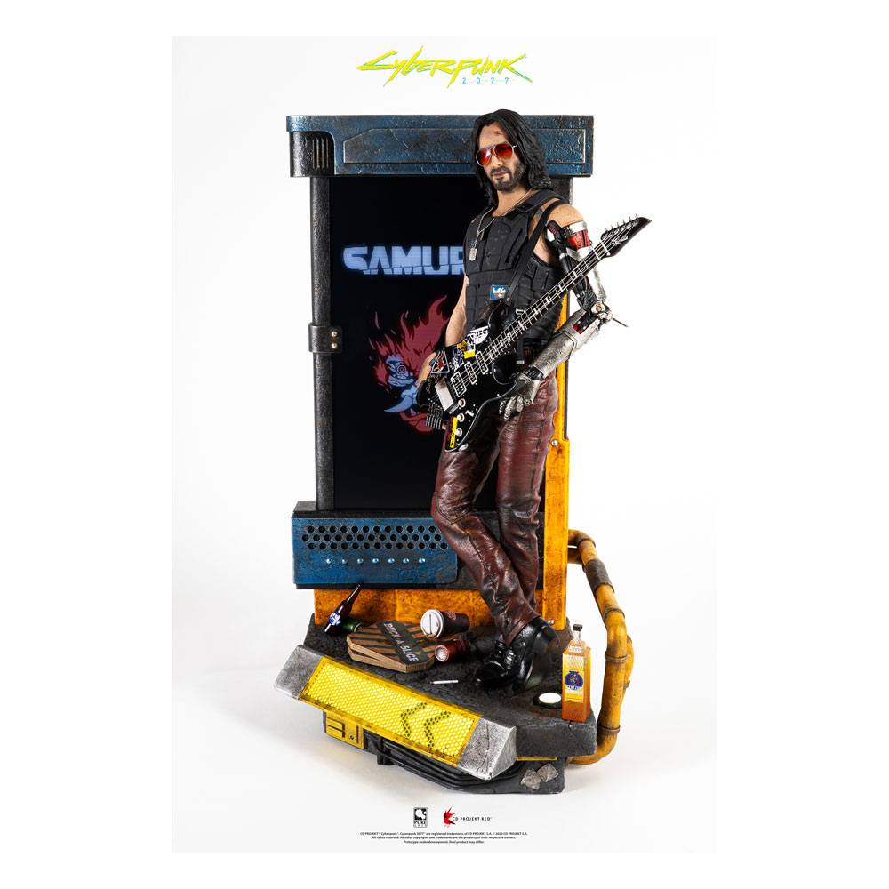 Cyberpunk 2077 Statue 1/4 Johnny Silverhand Exclusive 34 cm