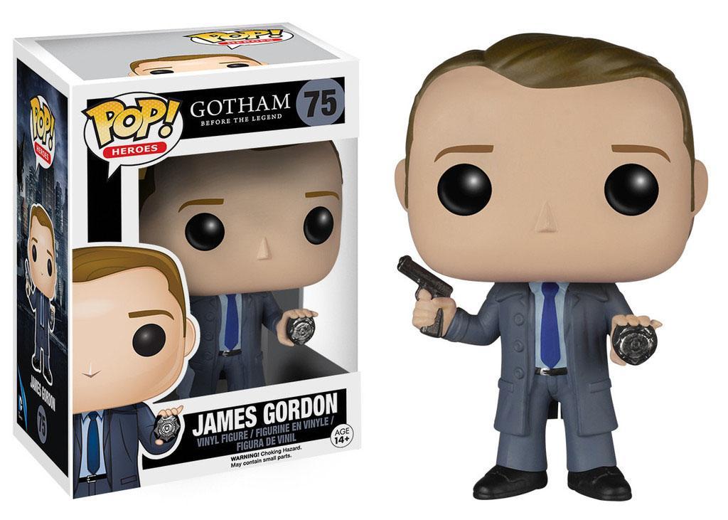 Gotham POP! Television Vinyl Figure James Gordon 9 cm