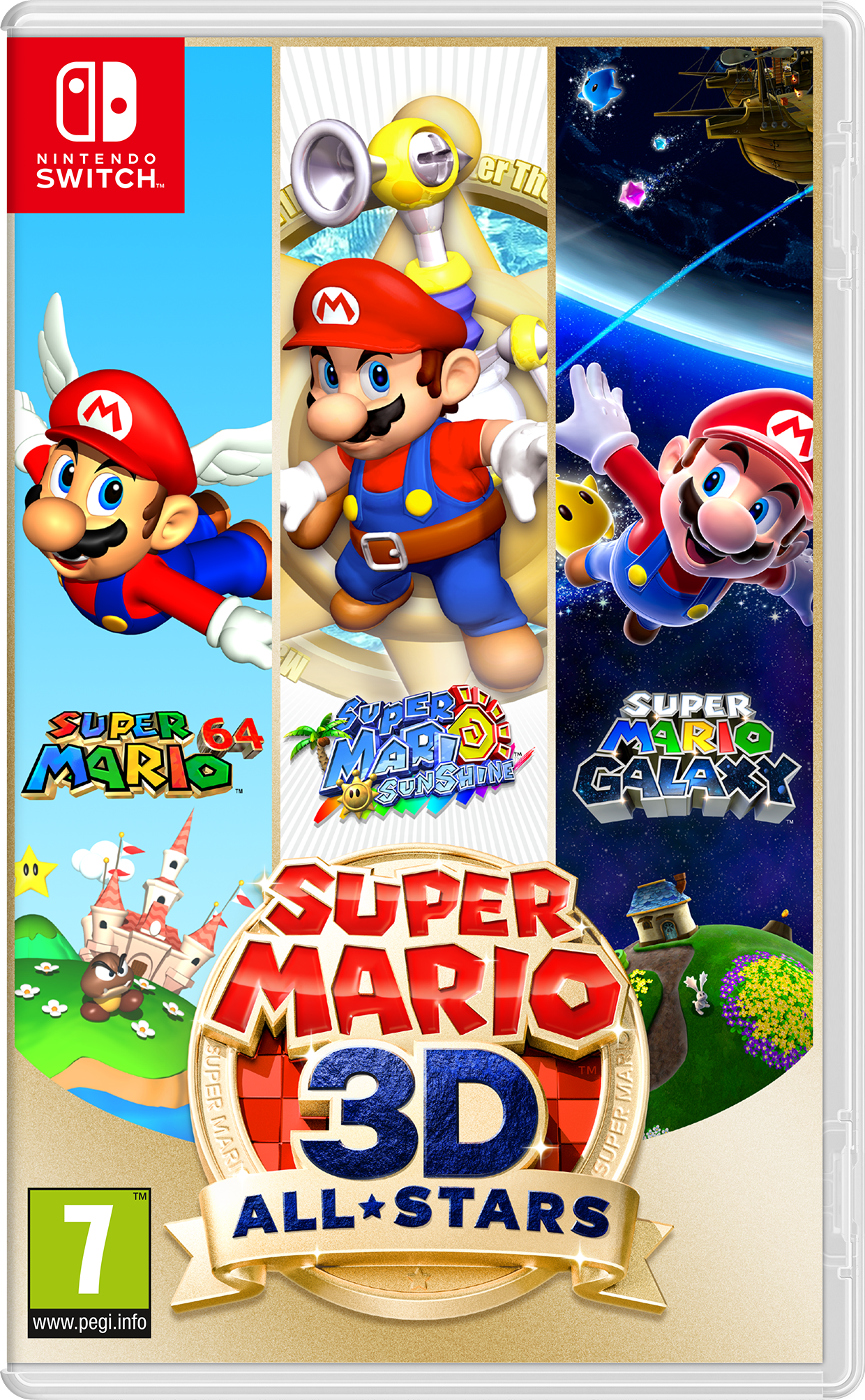 Super Mario 3D All-Stars (NS)