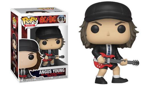 AC/DC POP! Rocks Vinyl Figure Angus Young 9