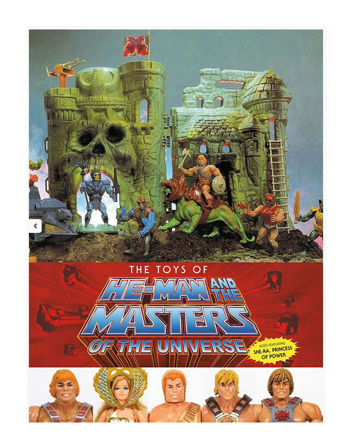 Master of the Universe Art Book The Toys of He-Man and The Master of the Universe