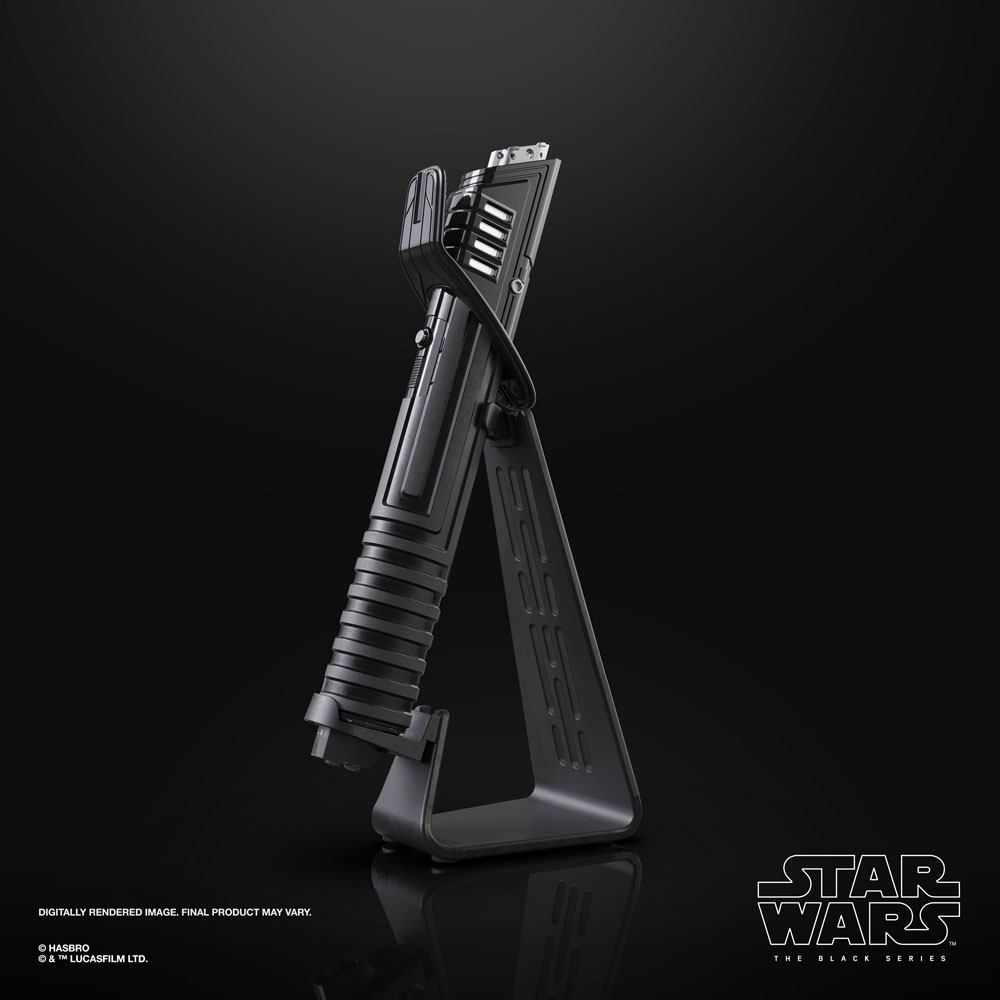 Star Wars The Mandalorian Black Series Replica 1/1 Force FX Elite Lightsaber Mandalorian Darksaber