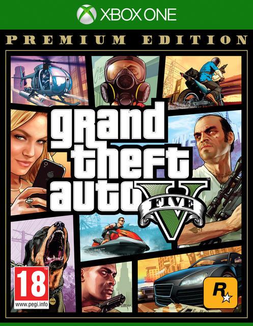 Grand Theft Auto V Premium Edition (XB1)