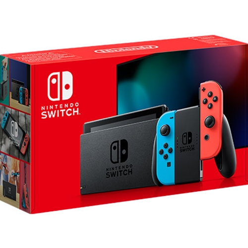 Nintendo Switch Console (Neon Red/Blue) (Switch)